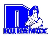 Duramax Diesel Girl 6 Decal Sticker