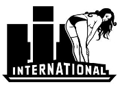 International Diesel with Girl v9 Decal Sticker