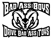 Bad Ass Boys Dodge v3 Decal Sticker