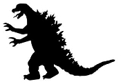 Godzilla v3 Decal Sticker