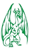 Dragon v48 Decal Sticker
