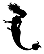 Mermaid Silhouette 4 Decal Sticker