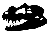 Dinosaur Skull 2 Decal Sticker