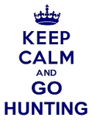 Keep Calm and Go Hunting Decal Sticker