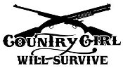 Country Girl Will Survive v1 Decal Sticker