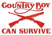 County Boy Can Survive v2 Decal Sticker