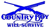 County Boy Will Survive v1 Decal Sticker