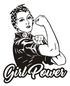 Girl Power v4 Decal Sticker