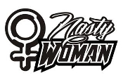 Nasty Woman v1 Decal Sticker