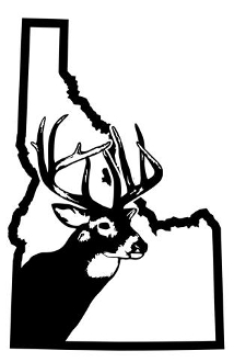 Idaho Deer Hunting Decal Sticker