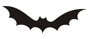 Bat v4 Decal Sticker