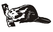 Beaver v2 Decal Sticker