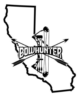 California Bowhunter v2 Decal Sticker