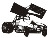 Sprint Car v1 Decal Sticker