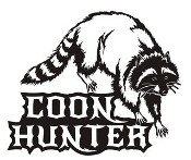 Coon Hunter v2 Decal Sticker