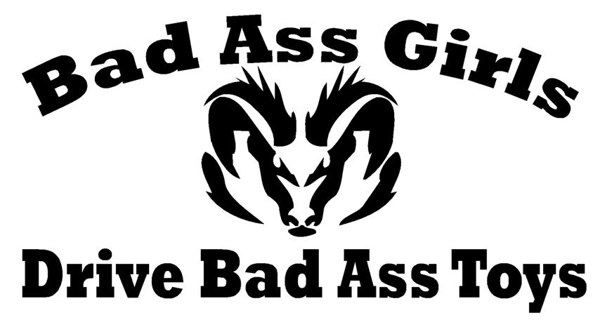 Funny Dodge Sayings Bad ass girls dodge (small).jpg