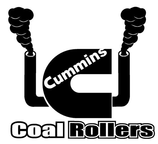 Dodge Cummins Sayings Cummins coal rollers decal