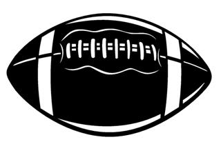 Football Decal Sticker