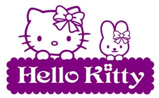 Hello Kitty 15 Decal Sticker