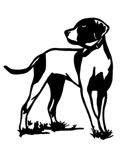 Hunting Dog  Decal Sticker - Sporting dog decals