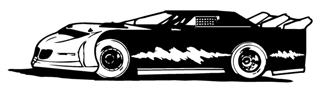 Late Model v6 Decal Sticker