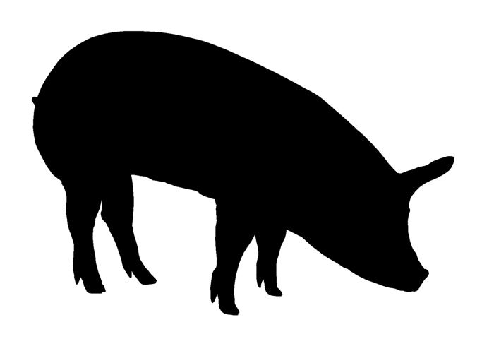 Bbq Pig Silhouette Pictures to Pin on Pinterest - PinsDaddy