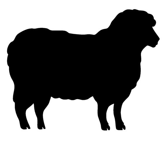 Image result for sheep silhouette