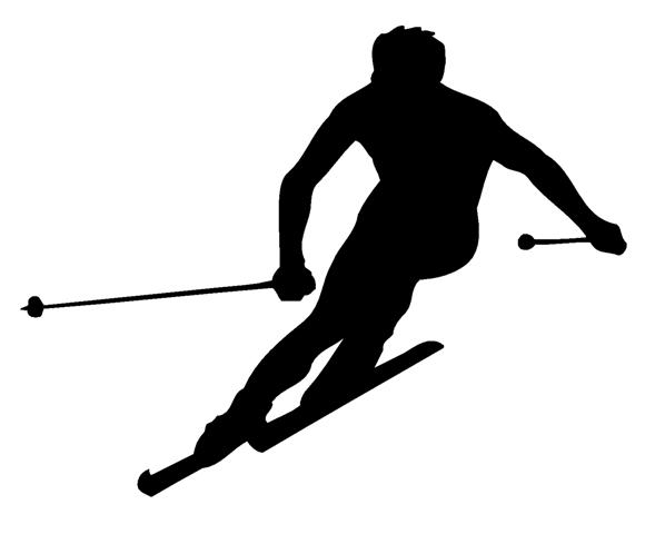 Pics Photos - Ski Skis Skiing Snow Silhouette Silhouettes Skiing706 ...