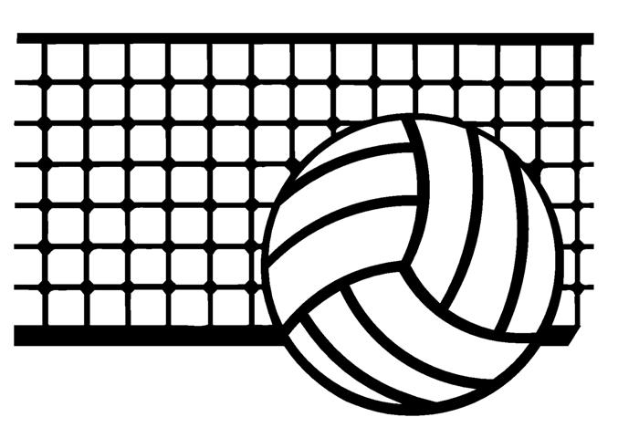 clipart pictures of volleyball - photo #47
