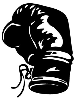 Boxing Glove Decal Sticker