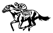 Horse Racing v1 Decal Sticker
