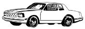 Stock Car v3 Decal Sticker