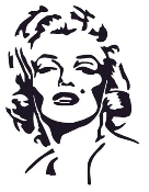 Marilyn Monroe Decal Sticker