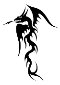 Dragon v11 Decal Sticker