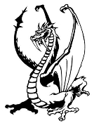 Dragon v24 Decal Sticker