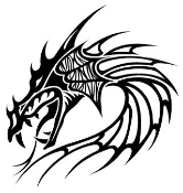 Dragon Head Decal Sticker
