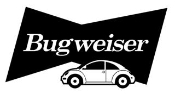 Bugweiser Decal Sticker
