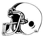 Football Helmet v1 Decal Sticker