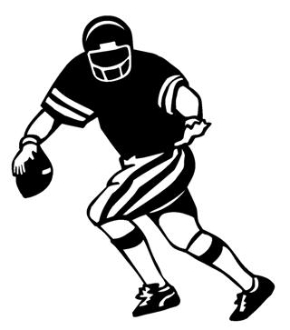 Quarterback v1 Decal Sticker