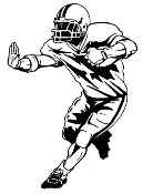 Running Back v2 Decal Sticker