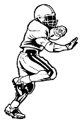 Running Back v4 Decal Sticker