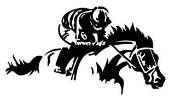 Horse Racing v2 Decal Sticker
