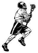 Lacrosse 2 Decal Sticker