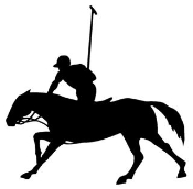Polo Silhouette Decal Sticker