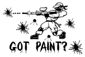 Got Paint Decal Sticker