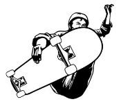 Skateboarder v3 Decal Sticker