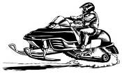 Snowmobile v1 Decal Sticker