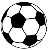 Soccer Ball 1 Decal Sticker