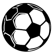 Soccer Ball 2 Decal Sticker