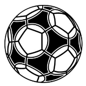 Soccer Ball 3 Decal Sticker